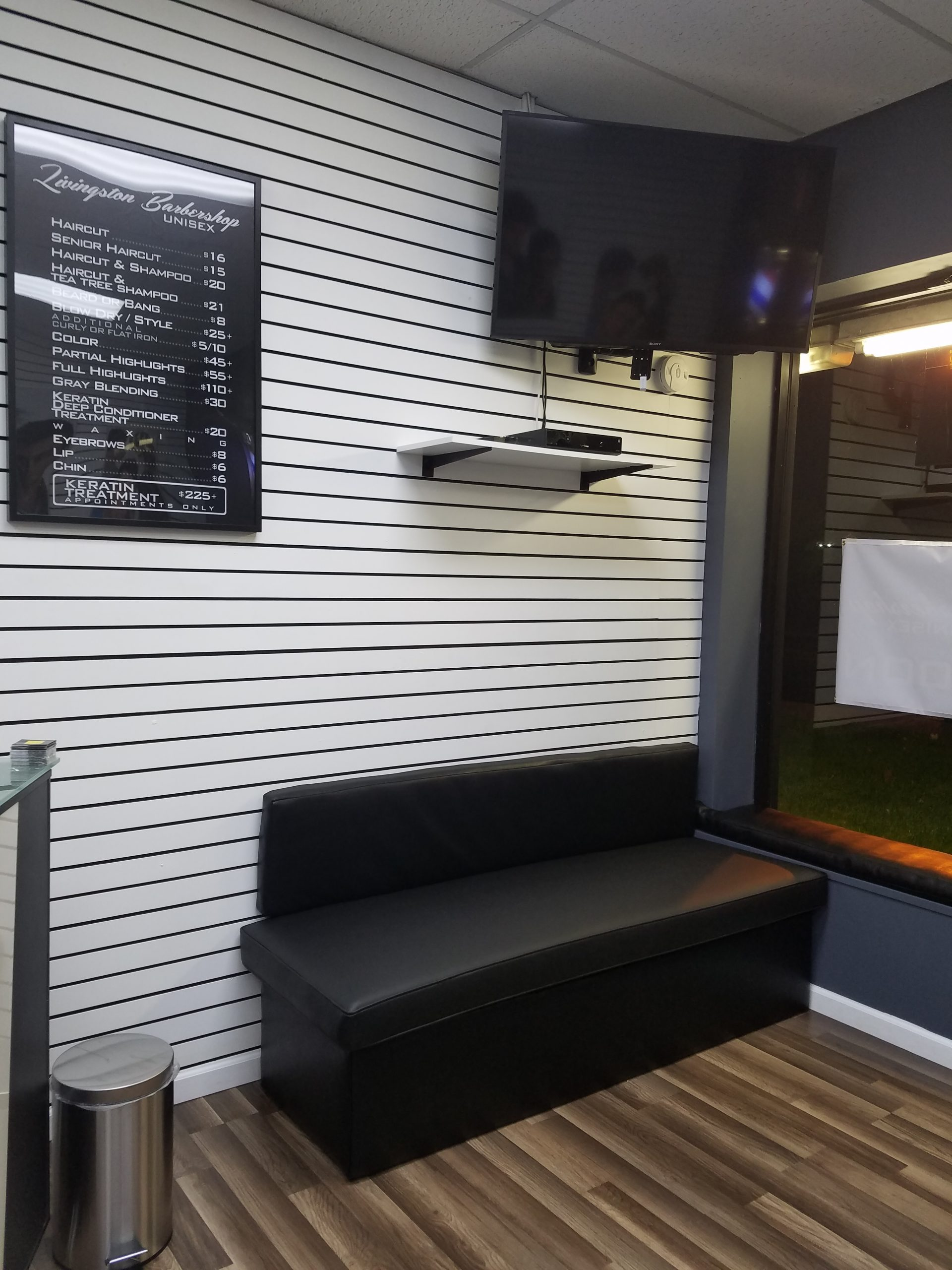 Seating Area with TV